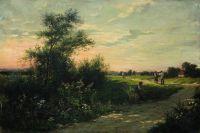 Крестьяне у хутора. 1900