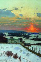 Закат. 1896