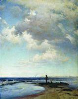 На берегу моря. 1884