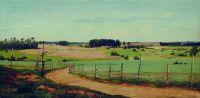 Летний пейзаж с дорогой. 1870-е