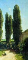 Жаркий полдень в южной усадьбе. 1868
