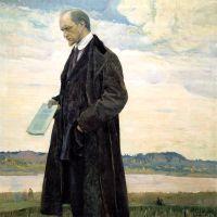 Мыслитель. Портрет Ивана Александровича Ильина. 1921-1922