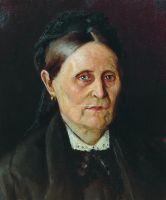 Портрет М.М.Нестеровой. Конец 1870-х