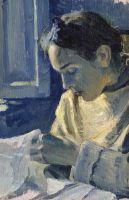 Портрет Н.М.Нестеровой. 1919