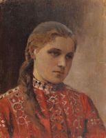 Портрет Марии Высоцкой. 1880-е