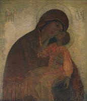 Богоматерь Умиление. 1909