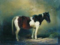 Пегая лошадь. 1860