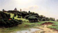 Саввино-Сторожевский монастырь под Звенигородом. 1860-е