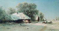 Зимний пейзаж. 1871