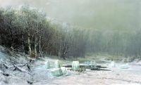 Зима. Ледокол. 1878