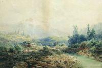 Горная речка на Кавказе. 1889