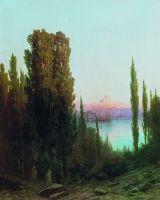 Вид турецкого города. 1878