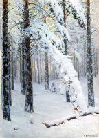 Лес зимой. 1906