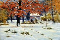 Ранний снег. 1890-е
