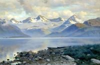Озеро в горах. 1898