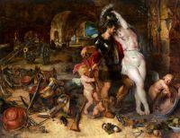 Возвращение с войны (совместнос Питером паулем Рубенсом) (1610-1612) (Лос-Анжелес, LACMA)