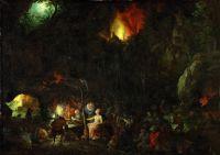 Искушение св Антония (1604) (Вена, Музей истории искусств)