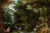 Латона и крестьяне (ок.1605) (Амстердам, Государственный музей)