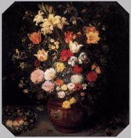 Натюрморт с букетом цветов
