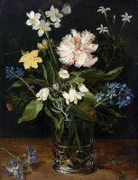 Натюрморт с цветами в стеклянной вазе (1610) (Амстердам, Государственный музей)