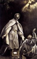 Видение пылающего факела св.Франциску (ок.1605)