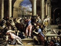 Изгнание торгующих из храма (1571-1576) (Миннеаполис, Институт искусства)