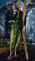 Мастерская Эль Греко. Святой Андрей (ок.1610) (Нью-Йорк, Метрополитен)