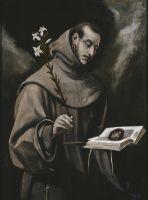 Св.Антоний Падуанский (ок.1577) (104 x 79) (Прадо, Мадрид)