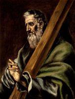Св.Апостол Андрей (ок.1600) (71.12 x 54.6) (Лос-Анжелес, LACMA)