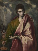 Св.Евангелист Иоанн (ок.1600) (99 x 77) (Мадрид, Прадо)