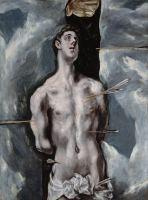 Св.Себастьян (корпус) (1610-1614) (115 x 85) (Мадрид, Прадо)