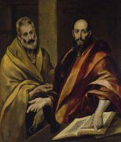 Свв.Апостолы Пётр и Павел (между 1587 и 1592) (С-Петербург, Эрмитаж)