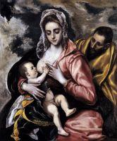 Святое семейство (ок.1585) (Нью-Йорк, Музей Испанского общества Америки)