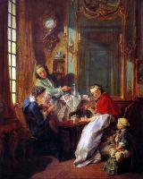 Утренний кофе (1739) (81.5 ? 61.5) (Париж, Лувр)
