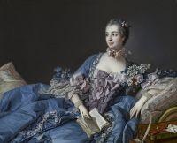 Портрет маркизы Помпадур (ок.1758) (37.9 ? 46.3) (Эдинбург, Нац. галерея Шотландии)