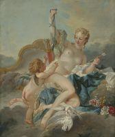 Венера разоружает Амура (18 век) (96.5 ? 80.3)