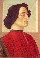 Портрет Джулиано Медичи (ок.1475) (54 х 36) (Бергамо, академия Каррара)