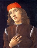 Портрет молодого человека (1482-1483) (41 x 31) (Вашингтон, Нац.галлерея)