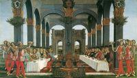 Новелла о Настаджио дельи Онести. Мистический брак (ок.1483) (142 х 83) (частная коллекция)