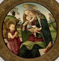Мадонна с младенцем (между 1490-1495) (74 см) (Бразилия, Сан-Паоло, Музей искусства)