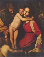 Святое семейство с Иоанном Крестителем, 1604