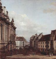 Вид Дрездена, Фрауенкирхе (1754)
