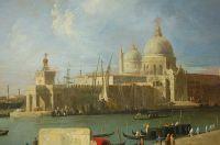 Вид церкви Салюте с Большого канала (около 1730)