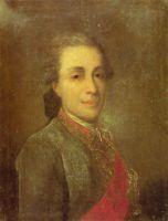 Портрет неизвестного в зеленом кафтане. 1770-е