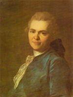 Портрет неизвестного в синем кафтане. 1770-е
