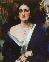 Дама в синем (1923—1926)