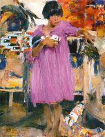 Девочка в фиолетовом платье (1927—1933)