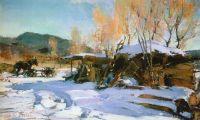 Зимний пейзаж. Таос (1927—1933)