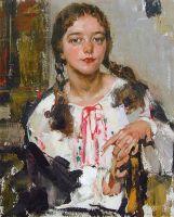 Ия в крестьянской рубахе (1933)