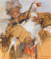 Казак с гусем (1915)